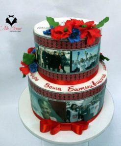 Корпоративный торт КТ11 фото