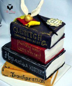 Праздничный торт Гарри Поттер Книги ПТ28 фото