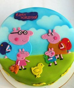 Детский торт Свинка Пеппа ДТ 41 фото