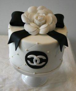 Праздничный торт Шанель ПТ40 фото