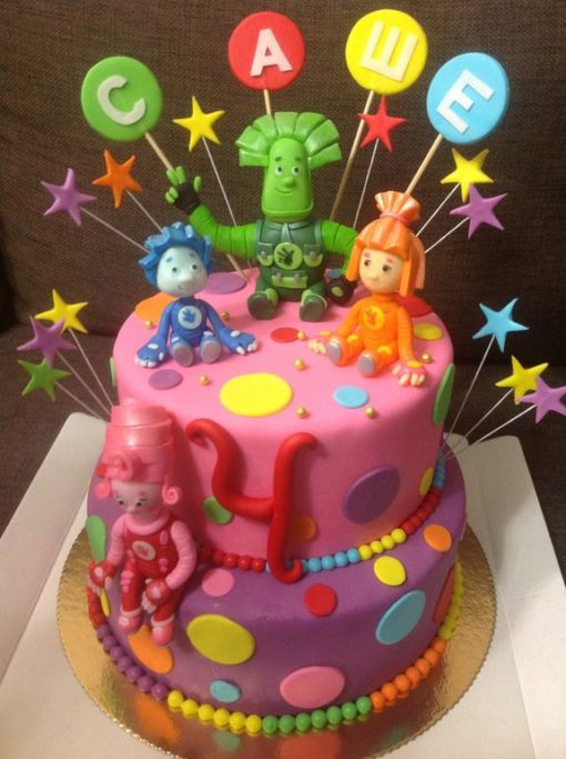 Детский торт Фиксики ДТ45 фото