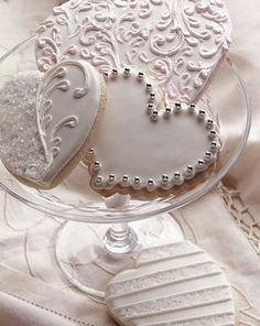 Свадебное печенье СВ1 фото