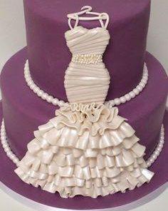 Свадебный двухъярусный торт СВ61 фото
