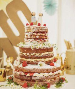 Голый торт без мастики БМ15 фото