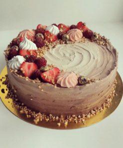 Торт без мастики БМ14 фото