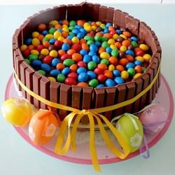 Piovonoricette Torta Kit Kat E Mms 21