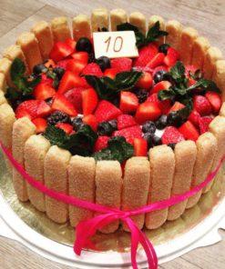 Торт без мастики БМ10 фото