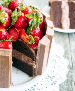 Торт без мастики БМ9 фото