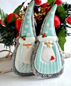 Новогоднее печенье Дед Мороз НП3 фото