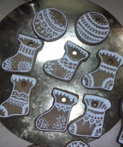 Новогоднее печенье НП1 фото 2