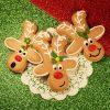 Новогоднее печенье Олень НП8 фото