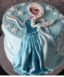 Новогодний торт Эльза 1 НТ3 фото