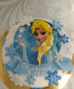 Новогодний торт Эльза 3 НТ3 фото