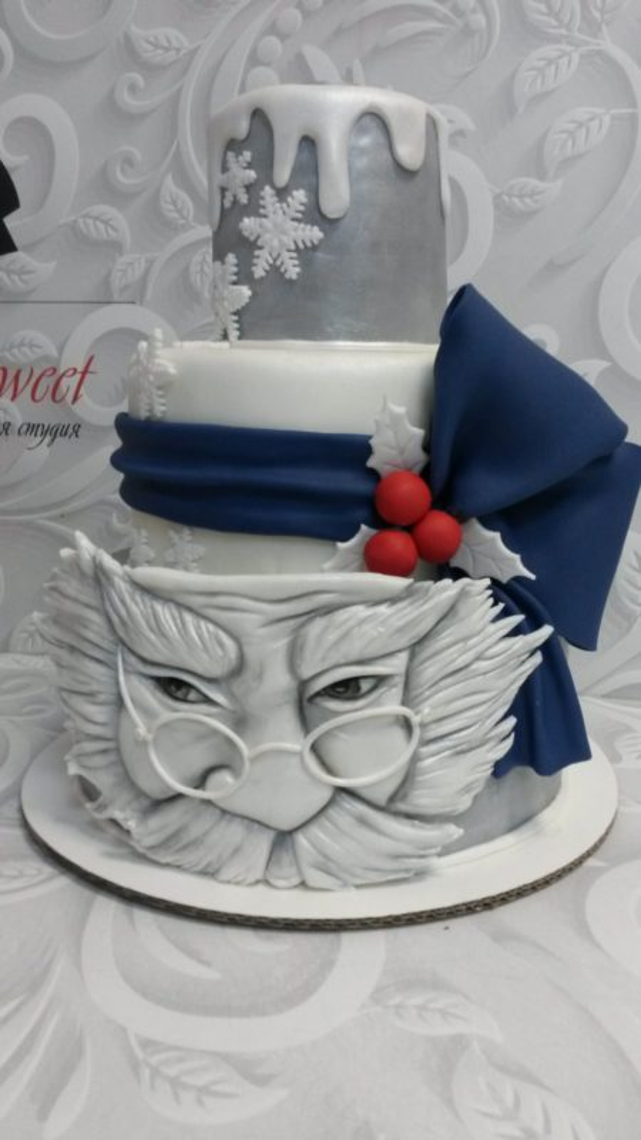 Новогодний торт Мороз НТ6 фото