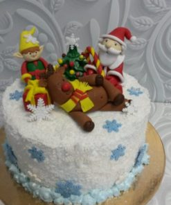 Новогодний торт НТ1 фото