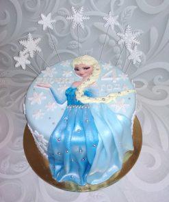 Новогодний торт Эльза 2 НТ3 фото